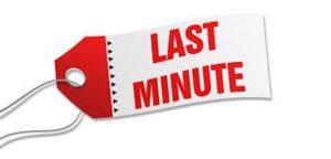 Promoções Last Minute – Uma dica valiosa.