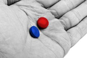Qual Pílula você irá tomar hoje?